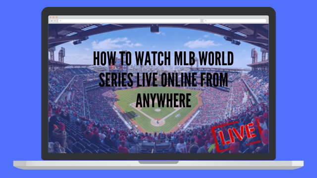 mlb world series live