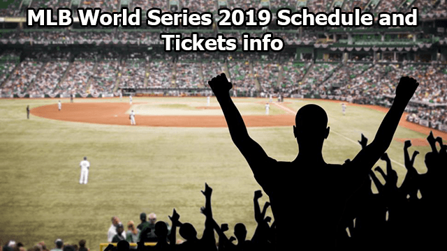 MLB World Series 2019 Schedule